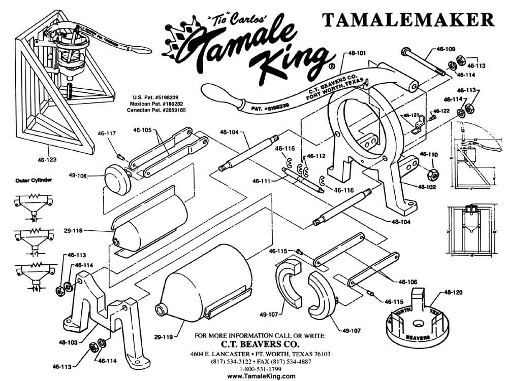 tamale king machine